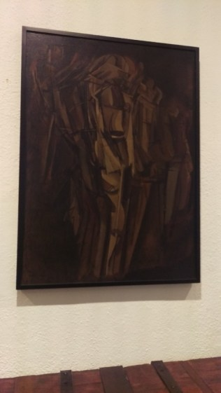Duchamp, Giovane triste in treno