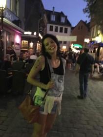 Silvia a Francoforte