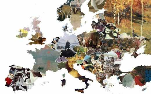 Où partir en mai ? Les 5 villes d'Europe du mois édition spéciale Ponts de mai carte de l'Europe tableaux les plus connus peinture art peintres européens
