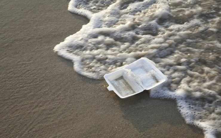 Tourisme durable : les start-ups pour devenir un voyageur responsable plage mer océan bel endroit pollué déchet plastique action pour une planète plus propre