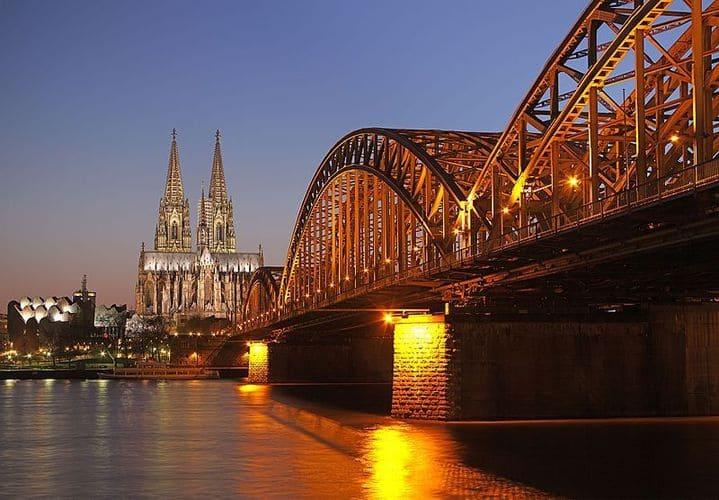 ou partir en octobre cologne pont hohenzollern