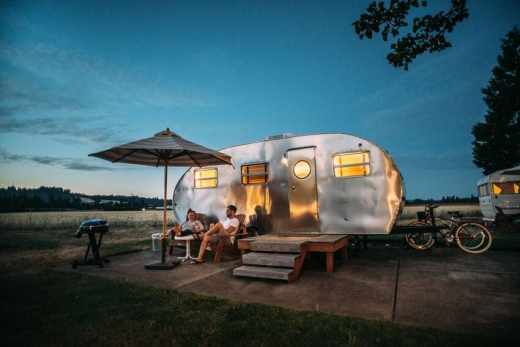 glamping france - voyage en france camping mobil home