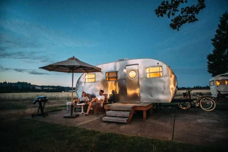 glamping france - voyage en france camping mobil home