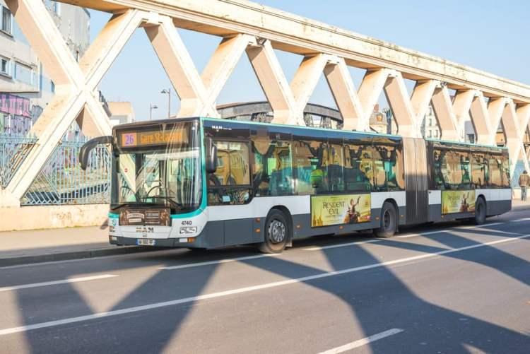 Greves SNCF 2019-bus-RATP-Paris
