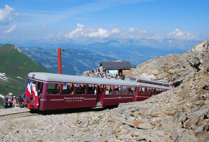 Rame Marie Nid d'Aigle - Tramway du Mont-Blanc