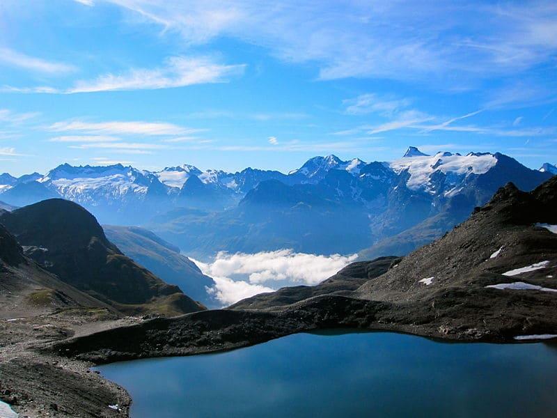 panorama depuis le parc national de la Vanoise
