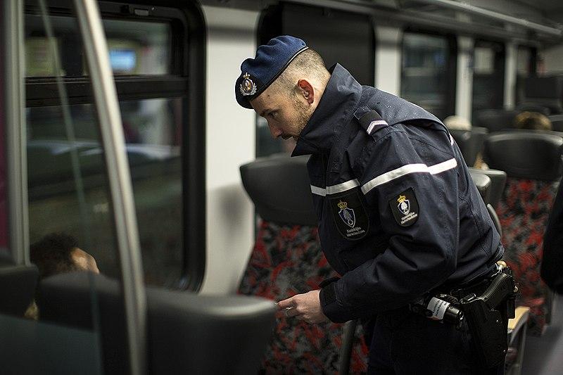 contrôle train SNCB belgique