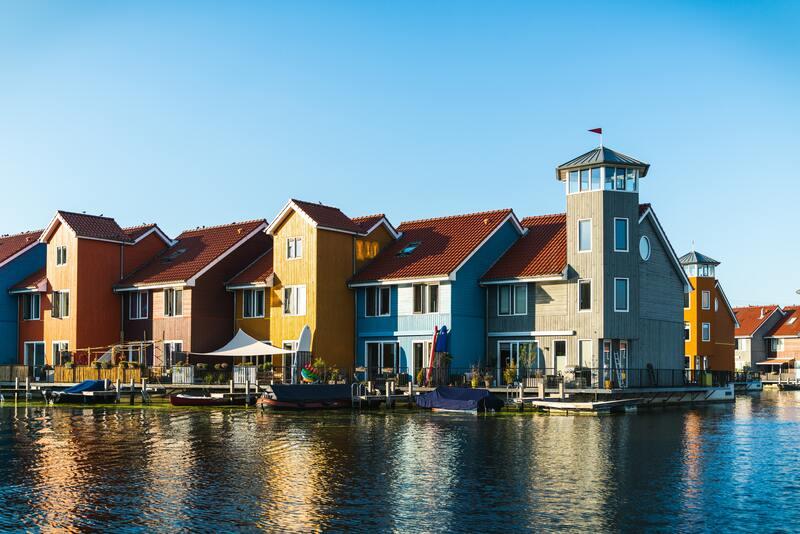 maison ville de Groningen aux Pays-Bas