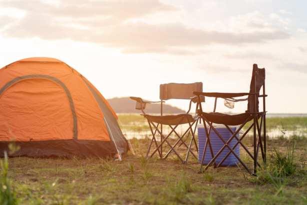 chaises de camping - tente camping