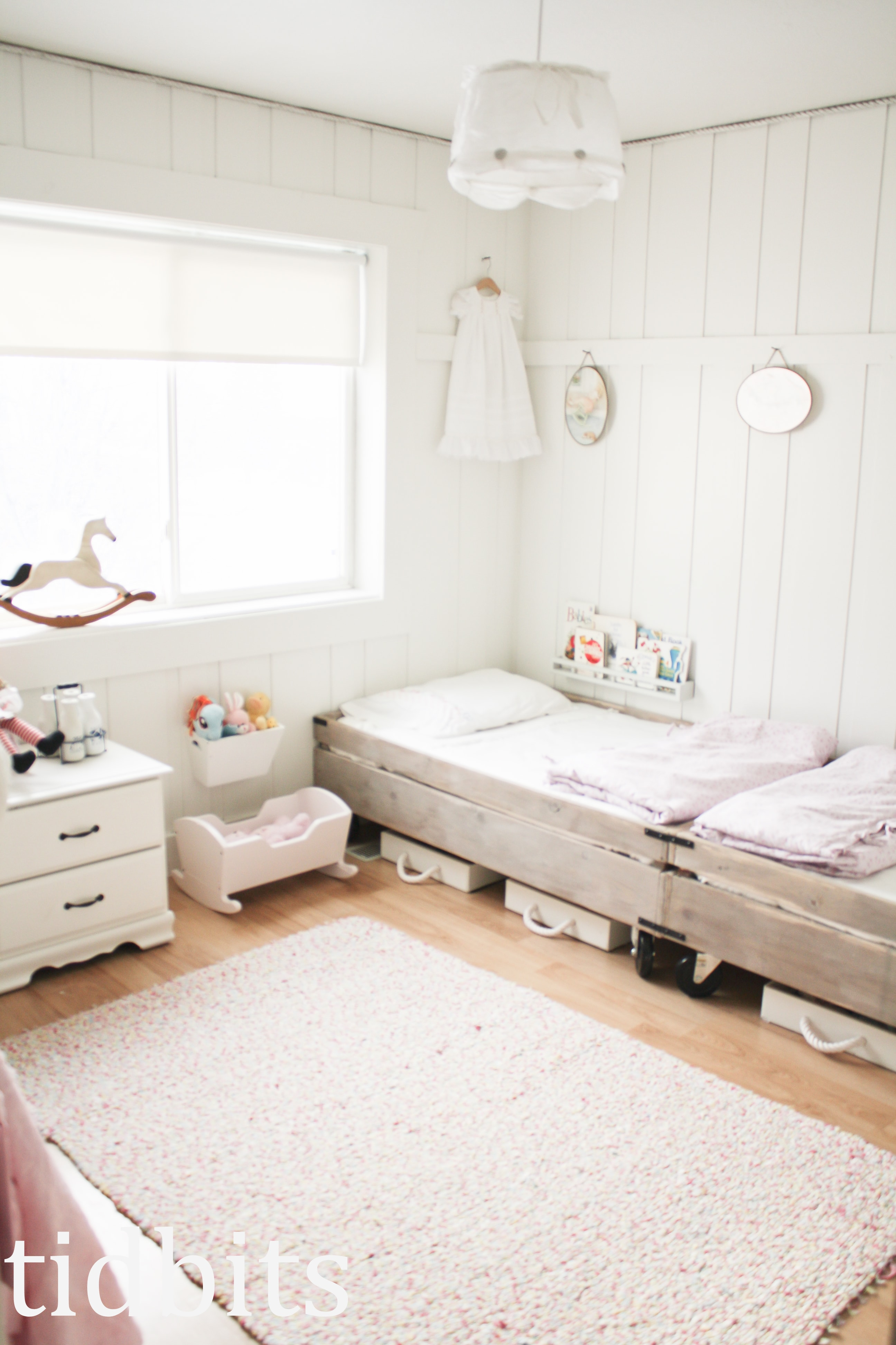 Girls Room: Little Girls Shared Bedroom