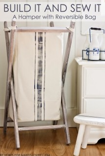 Fold-able Laundry Hamper – DIY