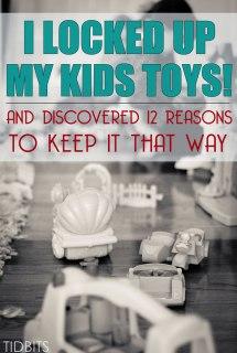 I Locked up My Kids Toys
