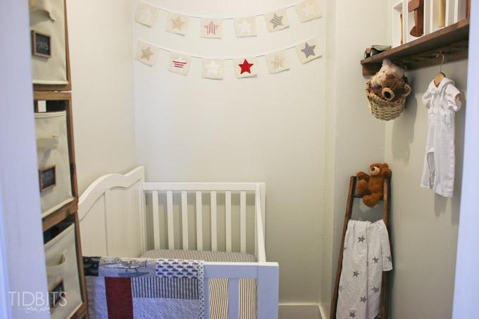 Closet Space Into A Nursery