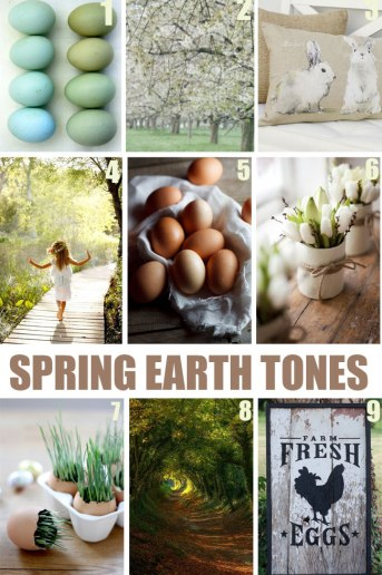 """Spring """"get-in-the"""" Mood Boards"""