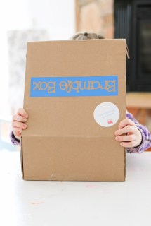 Bramble Box Review, subscription box for kids