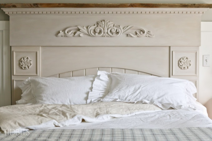 The Master Bedroom Bedding   DIY Style - Tidbits