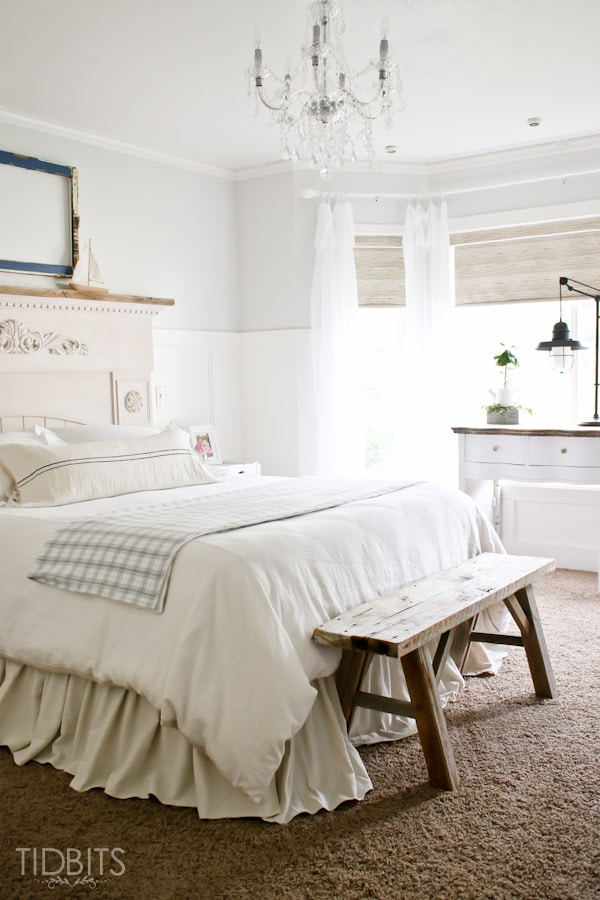 a serene master bedroom makeover full of diys thrifted treasures and beautiful decor