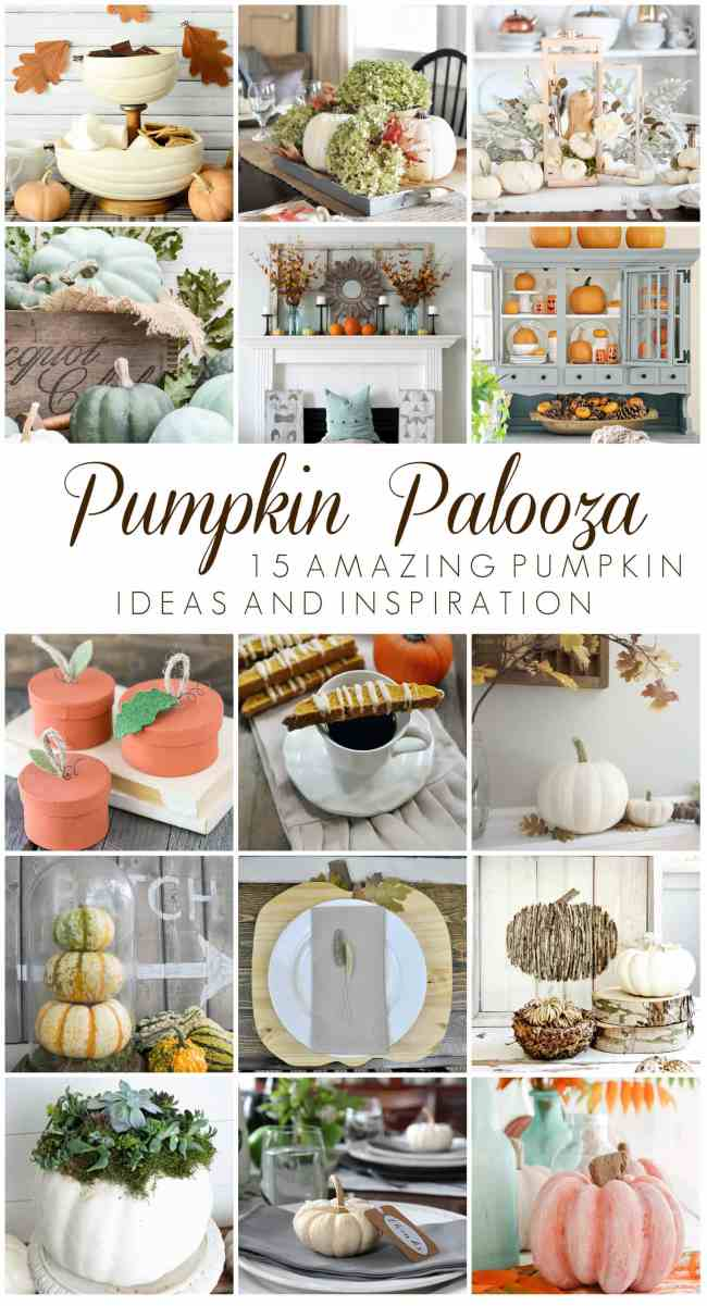 Pumpkin Palooza event - 15 bloggers teamed up with Country Living for all things pumpkin!