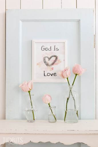 "Valentine Printable: ""God Is Love"""