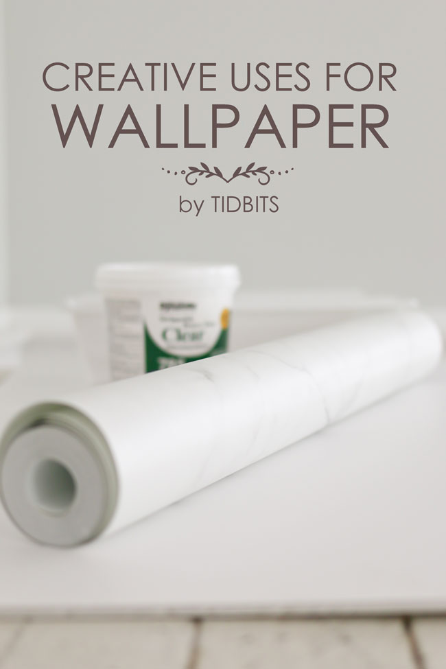 Creative Uses for Wallpaper that doesn't include your walls!