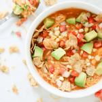 Creamy Enchilada Soup | Pressure Cooker Recipe
