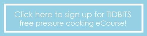 Pressure cooking ecourse