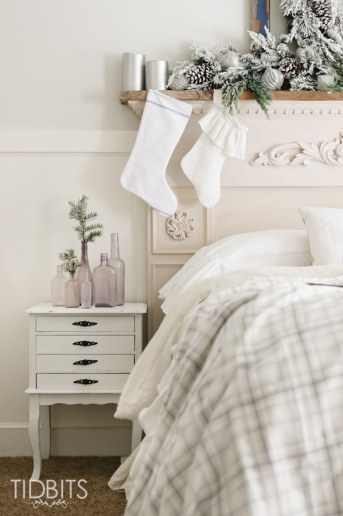 French Farmhouse Christmas | Master Bedroom