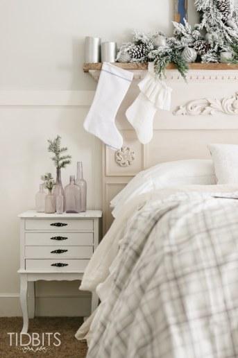 French Farmhouse Christmas | Master Bedroom
