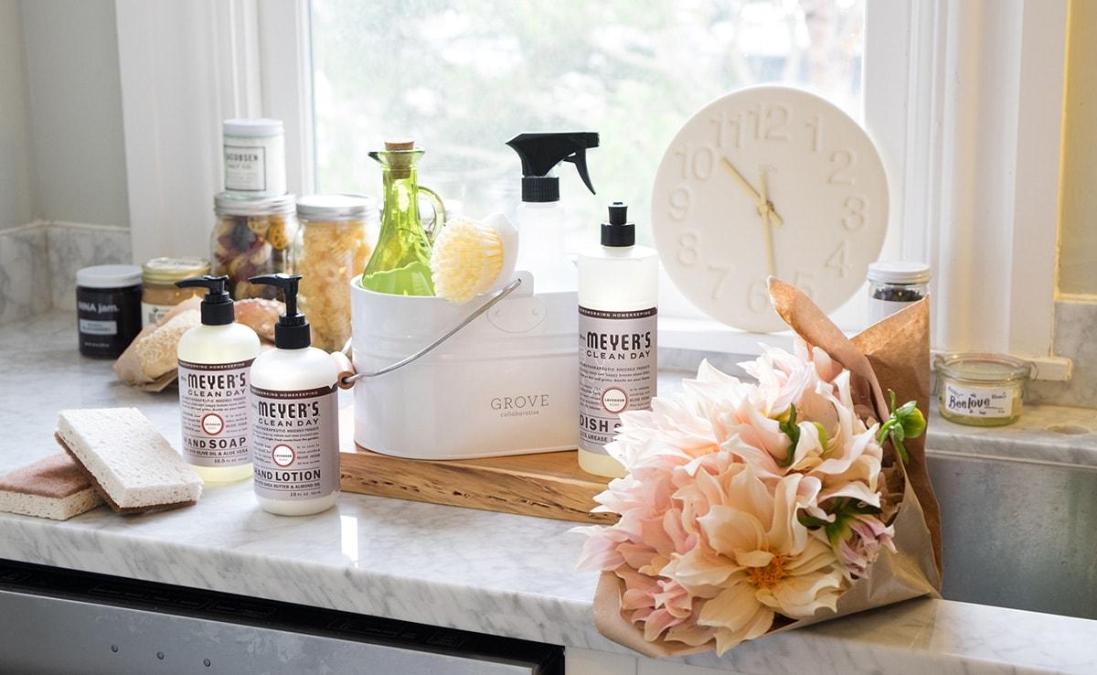 Bathroom Refresh + My Bathroom Cleaning Essentials