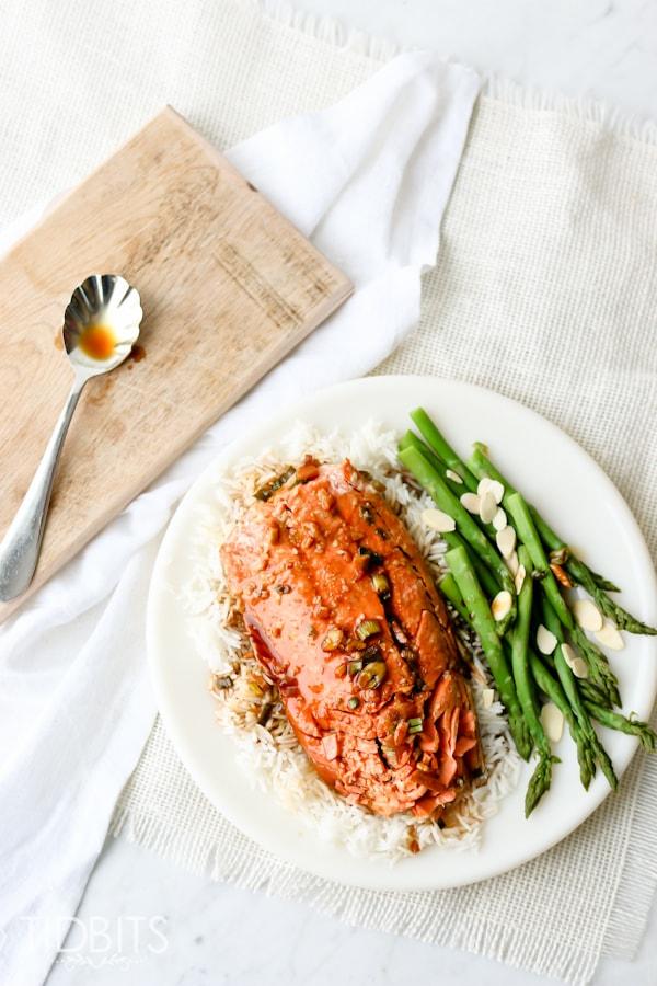 Pressure Cooker Salmon
