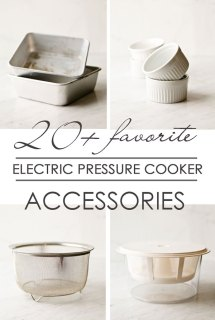 Electric Pressure Cooker Accessories