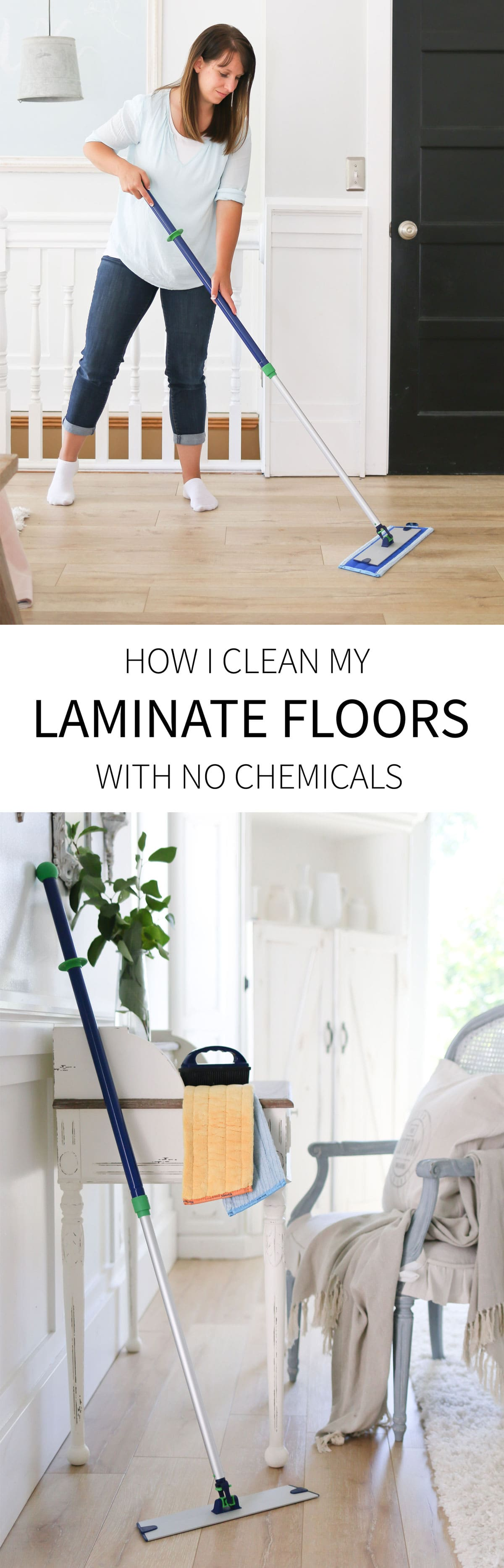 how i clean laminate flooring without the use of any chemicals