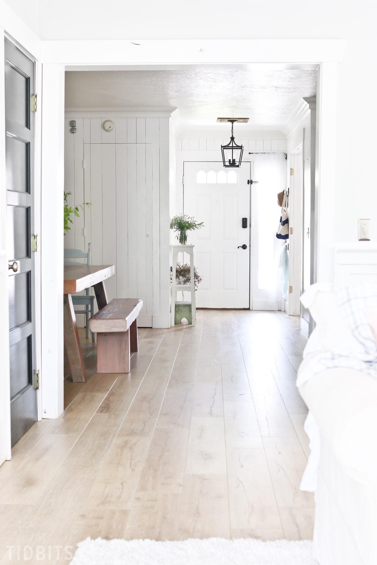 New Laminate Flooring Reveal