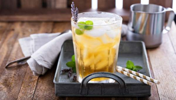 How to make Iced Lavender Tea