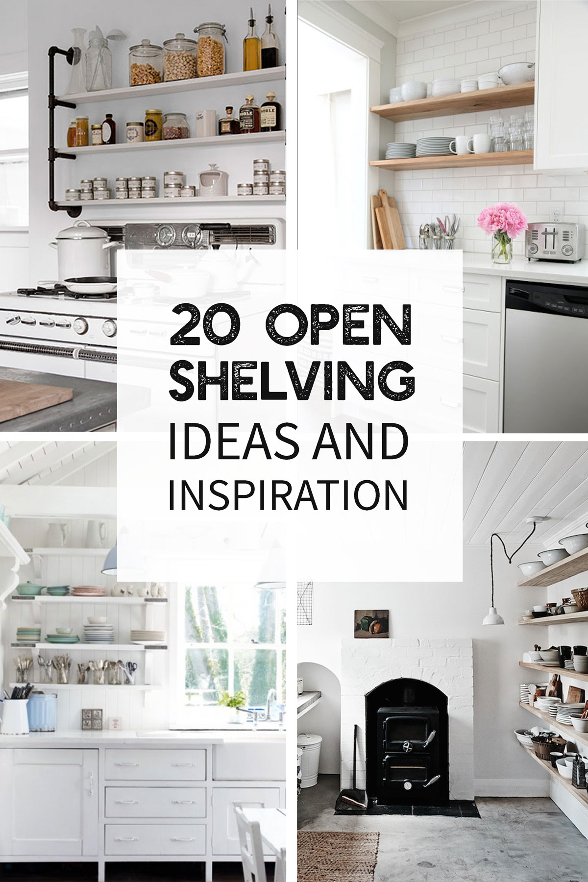High Quality 20 Open Shelving Ideas And Inspiration