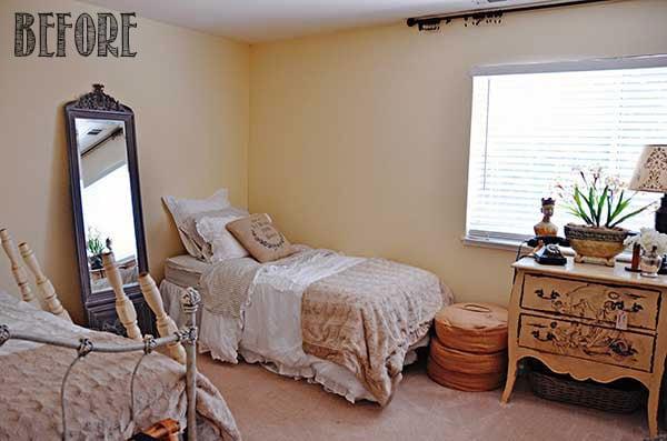 Guest Bedroom Makeover Part 2
