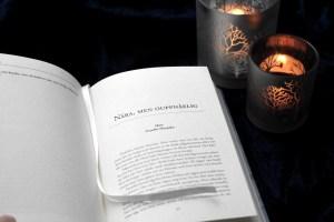 uppslagen bok av sista delen av I Sparvens klor