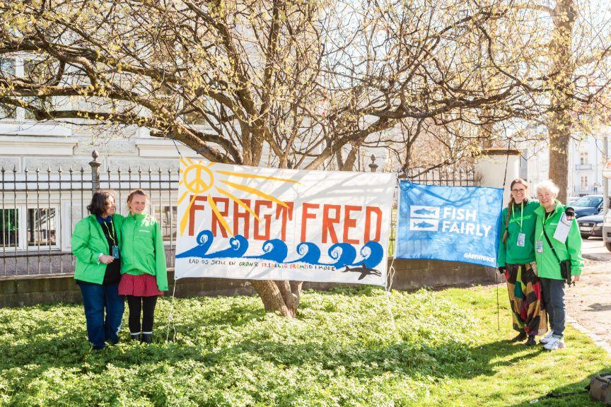 Fragt Fred Foto: TTF - aktiv mod krig