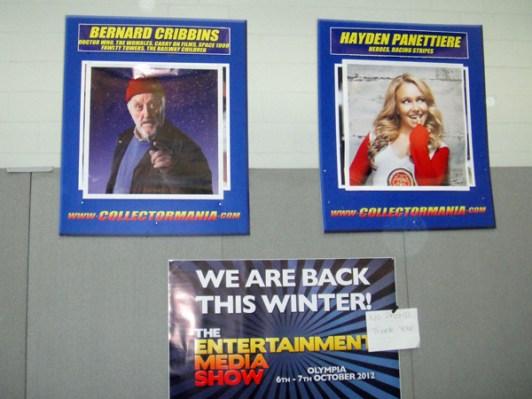 Bernard Cribbins poster at LFCC