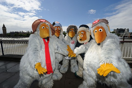 The Wombles by the River Thames