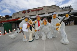 The Wombles at Wimbledon Station
