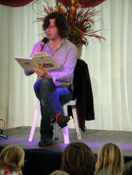 Julian Butler reads from The Wombles