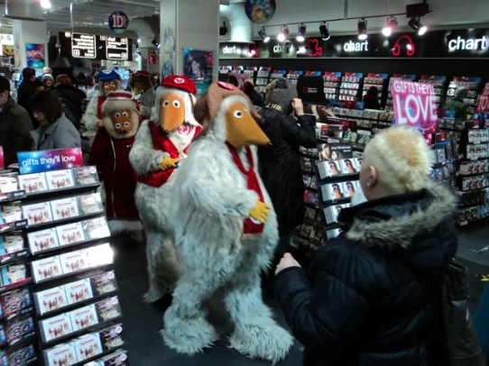 The Wombles at HMV