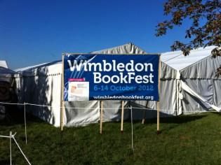 The Wimbledon Bookfest tent