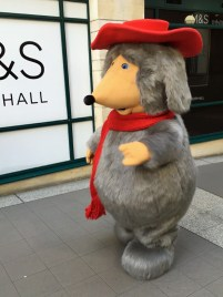 Orinoco walks through Wimbledon Centre Court shopping centre