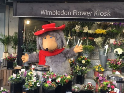 Orinoco at Wimbledon Flower Kiosk