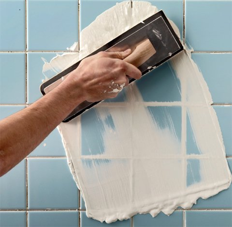 how to regrout bathroom tiles www