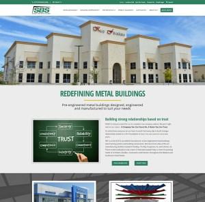 SBS - Manufacturer Website Redesign