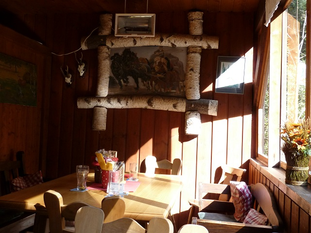 Gaststube im Waldhaus Riezlern