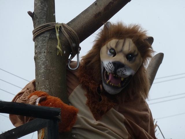 Löwe im Fasching